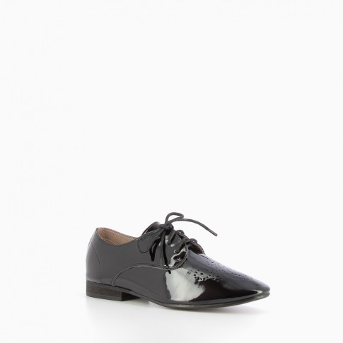 Patent black derbies