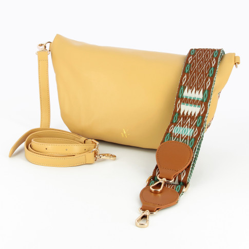 Pastel multicolored fanny bag